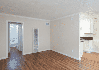 Wood-Style Flooring throughout the apartment